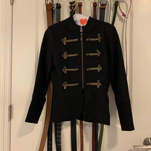 Black Soldier Style XOXO Blazer